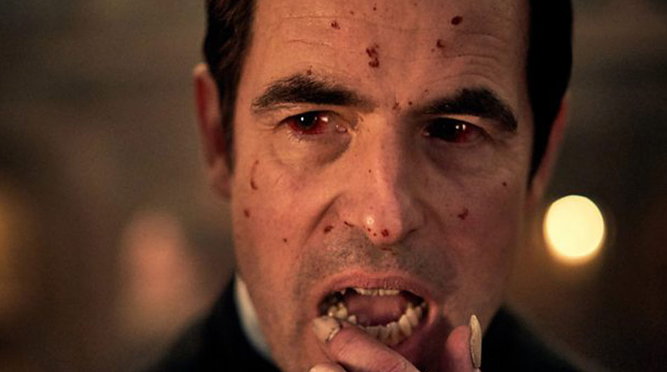 Claes Bang as dracula