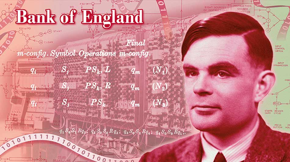 alan turing bank note