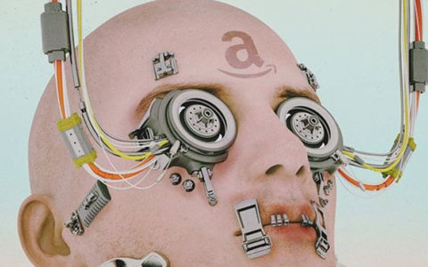 amazon robot by beeple