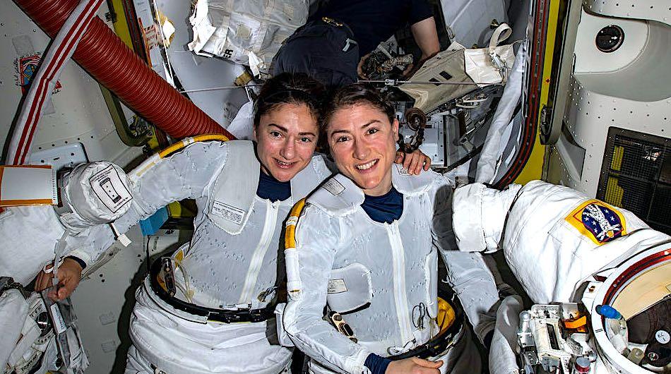 nasa all woman spacewalk
