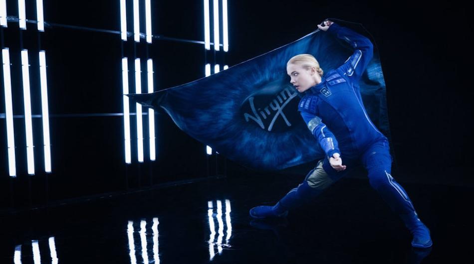 Virgin Galactic suit