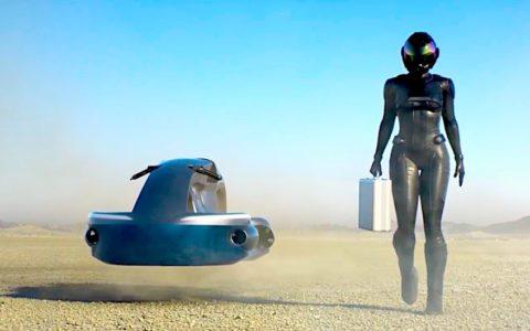 A.L.I. Technologies flying bike