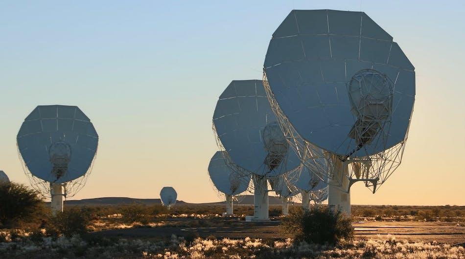 Meerkat telescope