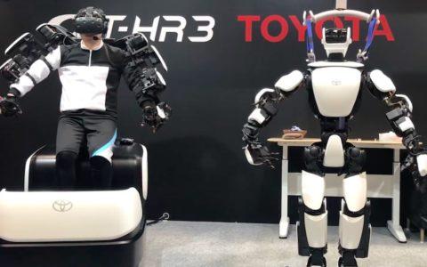 toyoto robot T-HR3