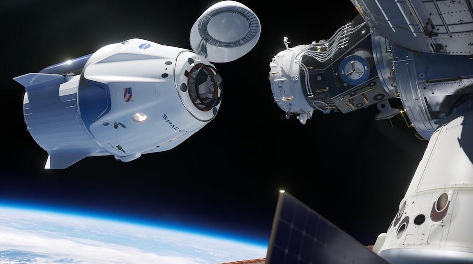 nasa shuttle docking
