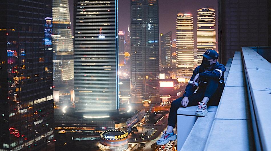 shanghai rooftop