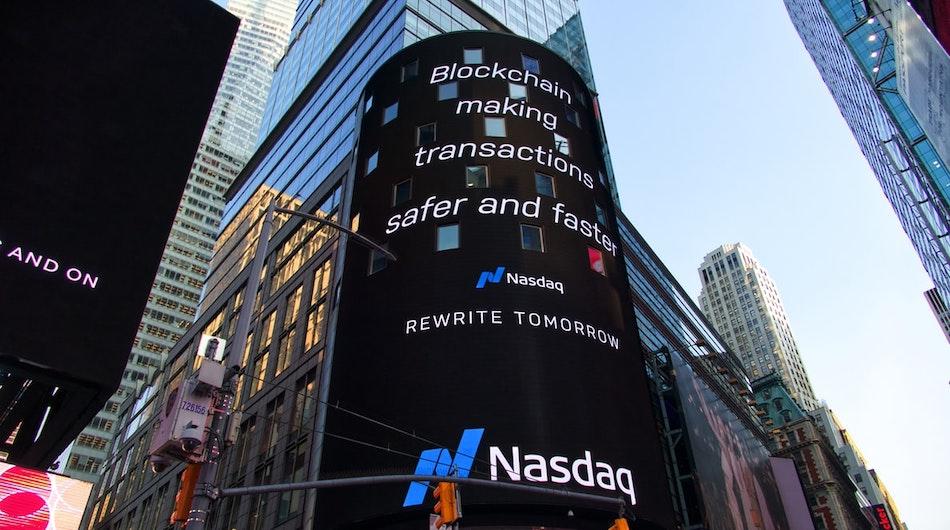 blockchain ad in new york